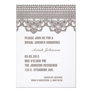 VINTAGE LACE Invitation