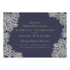 Vintage Lace Rehearsal Dinner Card