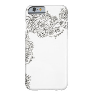 Vintage Lace Tattoo Look Barely There iPhone 6 Case