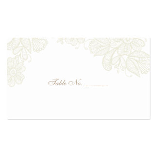 Vintage Lace Wedding Place Cards 100 pk Pack Of Standard Business Cards