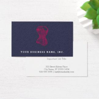Vintage Ladies Corset Business Card