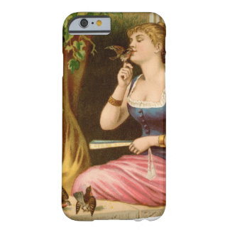 Vintage Lady Bird Lover Barely There iPhone 6 Case