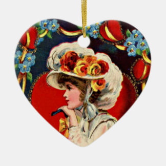 Vintage Lady Fashion Ornament