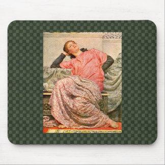 Vintage Lady Roman Times Mousepad