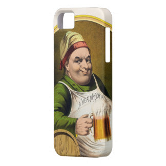 Vintage Lager Beer Advertisement Case For The iPhone 5
