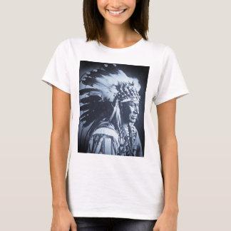 Vintage Lakota Sioux White Swan Chief T-Shirt