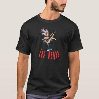 Vintage Las Vegas Casino Showgirl T-Shirt