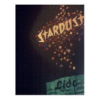 Vintage Las Vegas Stardust Hotel Postcard