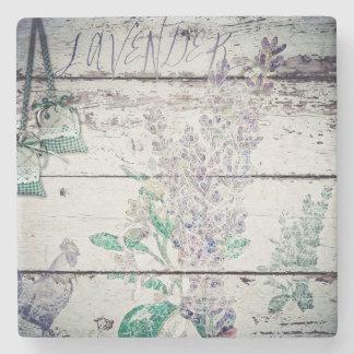 Vintage Lavender Marble Stone Coaster