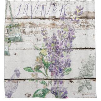 Vintage Lavender Shower Curtain