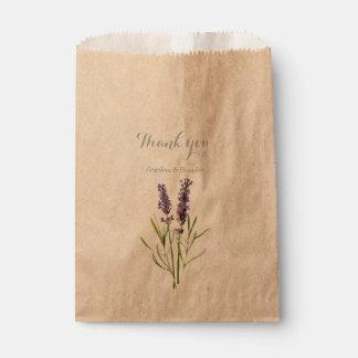 Vintage lavender - Thank you Favour Bag