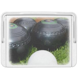 Vintage Lawn Bowls, Cooler