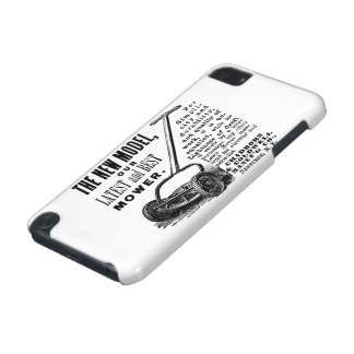 Vintage lawn mower advert iPod touch (5th generation) covers