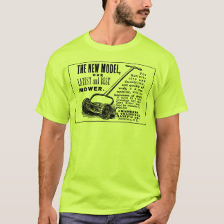 Vintage lawn mower advert T-Shirt