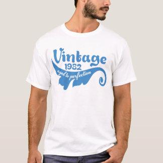 Vintage LEAF aged to perfection 1982 blue tshirt