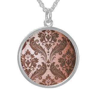 Vintage Leaf Sterling Silver Necklaces