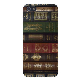 Vintage Leather Bound Classic Books Cases For iPhone 5