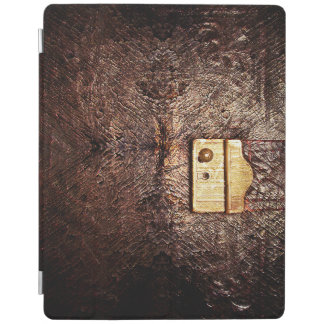 Vintage leather iPad cover