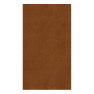 Vintage Leather Tanned Brown Parchment Paper Templ Double-Sided Standard Business Cards (Pack Of 100)