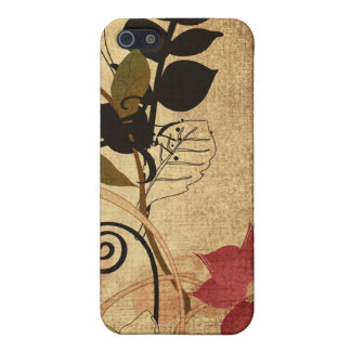 Vintage leaves and flowers Speck Case iPhone 5/5S Case