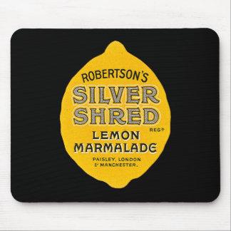 Vintage Lemon Marmalade Label Mouse Pad