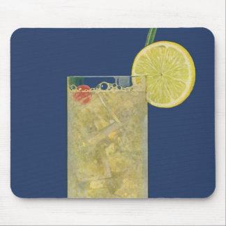 Vintage Lemonade or Fruit Soda, Drinks Beverages Mouse Pad