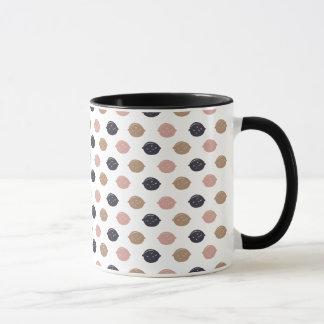 """Vintage Lemons"" Ringer Mug"