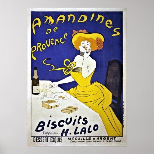 Vintage Leonetto Cappiello cookies ad Poster