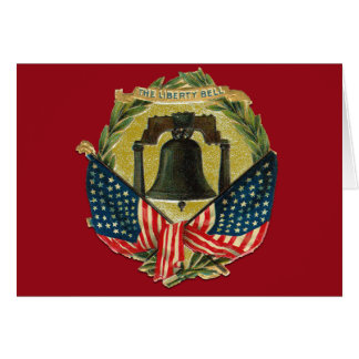 Vintage Liberty Bell Greeting Cards