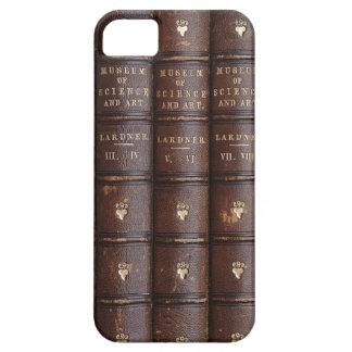 Vintage Library Books Effect iPhone 5 Case