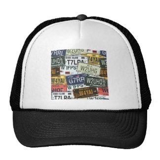 Vintage License Plates Hat