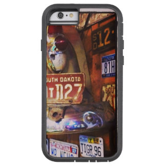 Vintage License Plates iPhone Cover