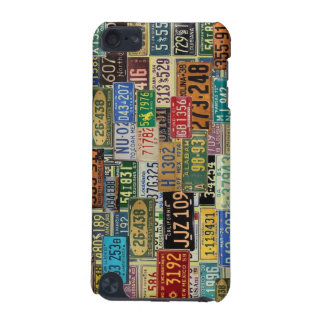 Vintage License Plates iPod Touch (5th Generation) Covers