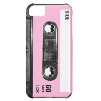 Vintage Light Pink Cassette iPhone 5C Cases
