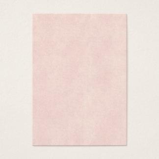 Vintage Light Rose Pink Parchment Look Old Paper Business Card
