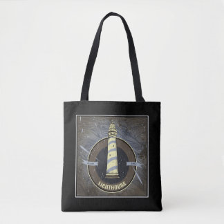 Vintage Lighthouse | 1960 Tote Bag