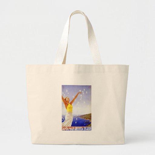 Vintage Ligure Savona Canvas Bags