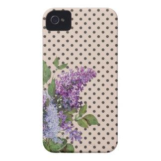 Vintage lilac Case-Mate iPhone 4 case
