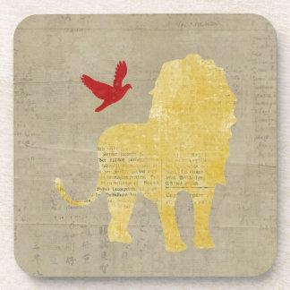 Vintage Lion Coaster