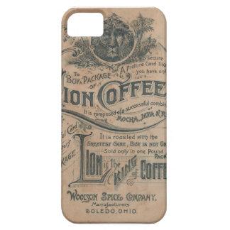 Vintage Lion Coffee Advertisement iPhone 5 Case