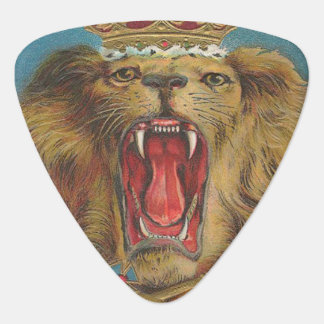 Vintage Lion King of the Beasts Guitar Pick