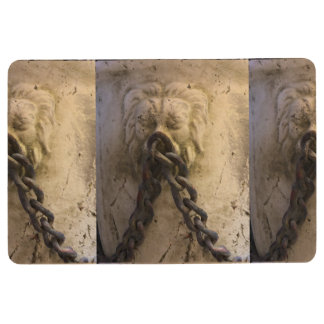 Vintage Lions and Chains Floor Mat