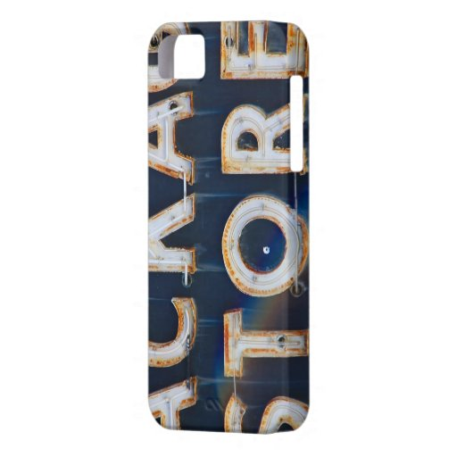 Vintage Liquor Store Sign iPhone 5 Cover