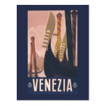 Vintage Litho Travel ad Venice Italy Post Cards