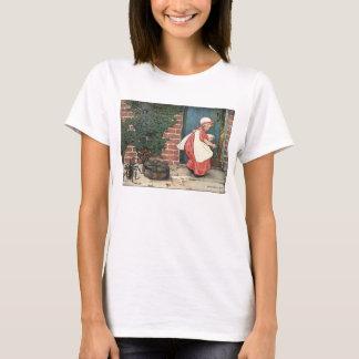Vintage Little Miss Muffet Spider Nursery Rhyme T-Shirt