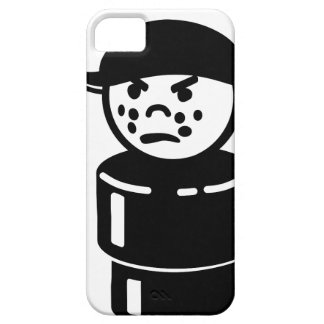 Vintage Little People Bully (Black) iPhone 5 Case