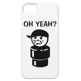 Vintage Little People Bully - Oh Yeah? (Black) iPhone 5 Cover