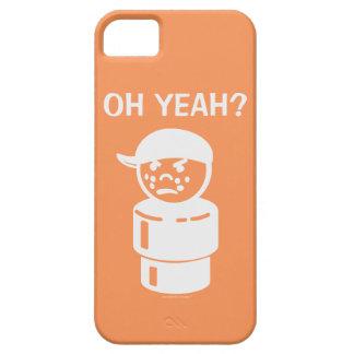 Vintage Little People Bully - Oh Yeah? (White) iPhone 5 Case