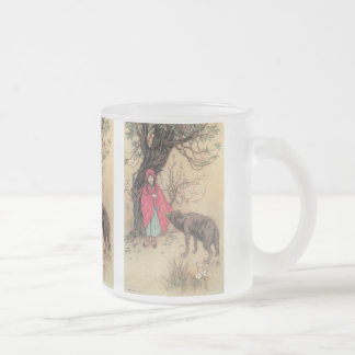 Vintage Little Red Riding Hood by Warwick Goble Coffee Mugs