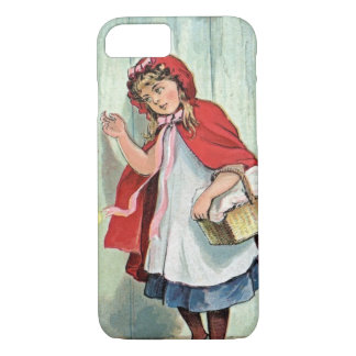 Vintage Little Red Riding Hood iPhone 7 Case